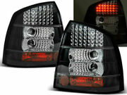 Opel Astra G Black Led Tail Lights Lamps 9/1998-10/2005 3 And 5 Door Hatchback