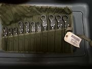 Military-tube Fitting Wrench Set, Part 5120-00-474-7227, Made In Usa