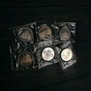 Lot Of 6 Coins 5 Roubles 1988 1989 1990 Sealed Proof Russia Commemorative.