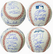 2016 Chicago Cubs Team Signed Official Mlb Baseball 23 Sigs W/maddon -schwartz