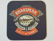 Beer Coaster Breakspear Brewery And Spirit Stores Henley On Thames, England