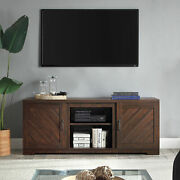 Hilo 58 Inch Barn Door Tv Stand Console For Tvs Up To 65 5 Colors