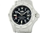 Auth Breitling Avenger Seawolf A17330 Ss Auto Menand039s Watche6768