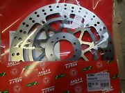 Trw Lucas Brake Disc Floating Msw210. This Listing Includes Two Discs.