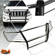 For 08-15 Land Cruiser J200 Suv S.s Bumper Brush Grille Guard Protector Chrome