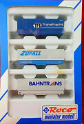Bnib Roco Shipping Containers For Flat Cars 1806
