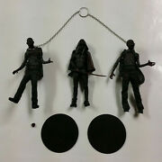 Mcfarlane Toys Walking Dead Series 3 Black And White Bloody Michonne And Zombie Pets