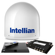 Intellian 13526667 I2 Us System W/dish/bell Mim 15m Rg6 Cable And Vip211z Dish