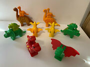 Lego Duplo Dinosaurs Big Lot Set Total Of 15 See All Pics Adults Babies