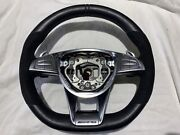 2015 Mercedes-benz Oem C217 Amg S Coupe Leather And Alcantara Steering Wheel Black