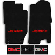 Lloyd 2pc Carpet Front Floor Mats For 1991 Gmc Syclone - Choose Logo And Color