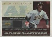2007 Upper Deck Artifacts Divisional Limited Edition /130 Nick Swisher Da-ns