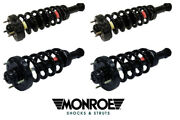 4 Suspension Strut And Coil Spring Assemblies Monroe Expedition Navigator 07-13