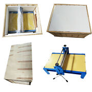 Ceramic Clay Plate Machine Slab Roller For Clay Heavy Duty Tablet Adjustable New