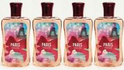 4 Bath And Body Works Signature Collection Paris Amour Shower Gel Body Wash
