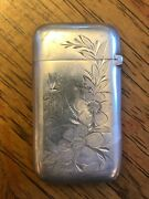Match Safe, Silver Or Silver Plated By Gorham Mfg. Co.,