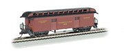 Bachmann Industries Baggage Prr Ho Scale Old-time Car With Round-end Clerestory