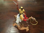 Timpo Arab/ Desert Warrior - Yellow/ Red Camel Rider Legs - Very Rare - 1970and039s