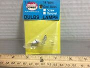 2 Model Power 14-16v Packages Of Bulbs Any-scale Buildings And More