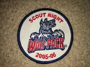 Boy Scout 2005 Hartford Wolf Pack Connecticut Yankee Hockey Council Sport Patch