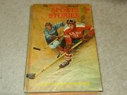 Boy Scout Bsa The Boy's Life Book Of Sports Stories Hockey Hard Cover Book