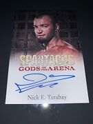 Nick E. Tarabay As Ashur Authentic Autograph Card In Spartacus Gods Of The Arena