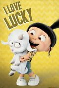 92336 Despicable Me 3 Movie I Love Lucy Decor Laminated Poster Us