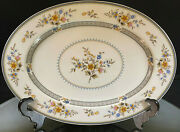 Mikasa--bone China--chippendale--lovely--oval Platter--15.0--nice--buy It Now