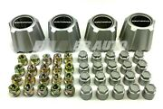Silver 15 Wheel Center Caps W/ 20 Lug Nuts And Covers New For 82-92 Chevy Camaro