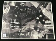 James Earl Jones/dave Prowse Vader And Emperor Signed Star Wars 11x14 Opx Shield