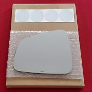 Mirror Glass + Adhesive For Trax Encore Driver Side Replacement - Heated