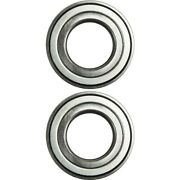 Front Wheel Hub Bearing Left And Right Pair Set Of 2 For Lincoln Ford Jaguar Mazda
