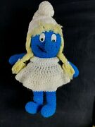 Limited Edition/one Of A Kind Never Release Vanity Smurfette Hand Made