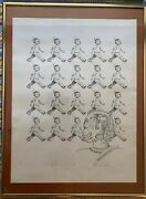 Mark Steven Greenfield Rare Lithograph Chief Leroy