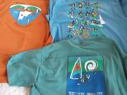 Lot Of 3 Wente Boy Scout Camp Adult Size L Tee Shirts 2004 2006 2007