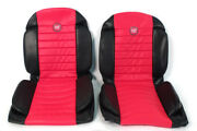 Fiat 600 Anatomical Red Seat Covers New