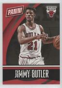 2015 Panini National Convention Team Colors Decoy Thick Stock Jimmy Butler Bk3