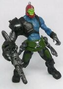 Motu Trap Jaw 200x Complete Figure He-man Weapons Masters Of The Universe