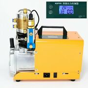 Electric Intelligent 220v High Pressure Air Compressor For Paintball Tank Refill