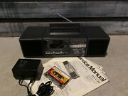 National Rx-c20 Stereo Boombox