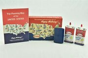 Esso Happy Motoring Kit Boxed Set With Trip Map