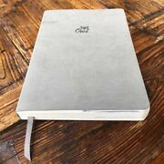 Soft-touch Leather Covered Dotted Grids Notebooks Sketch Pads Rounds Corners New