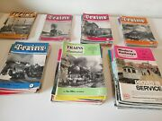 44 X Trains Illustrated Magazines Publications 1954 - 1962 All Listed Joblot