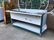 60 Steam Table 4 Pans Single Burner Natural Gas - Nsf Approved