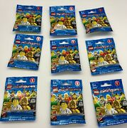 Lot Of 9 Lego Minifigures Series 2 8684 Sealed. Brand New
