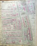 1923 Pittsburgh Pa Squirrel Hill Industrial Home For Crippled Children Atlas Map