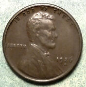 1926 S Wheat Penny Au About Uncirculated Brown 4.5 Mil Rare San Francisco Store