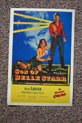 93653 Son Of Belle Starr Lobby Card Keith Larsen Decor Laminated Poster Ca