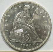 1860-o New Orleans Seated Liberty Uncirculated Silver Dollar