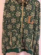 Vintage Lrg Lifted Research Group Green Hoodie/jacket W/ Hood Size Xl Preowned